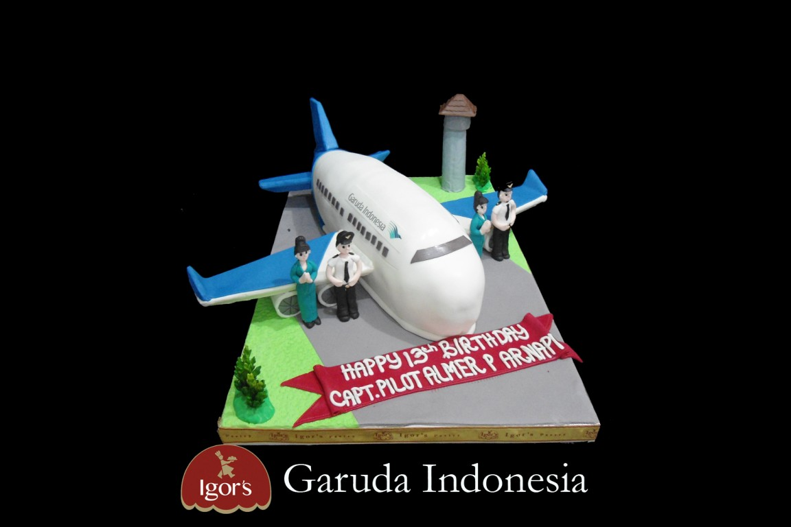 Garuda Indonesia - Igor's Pastry products