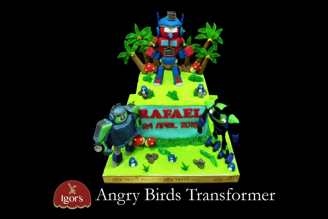 Angry Birds Transformer - Igor's Pastry products