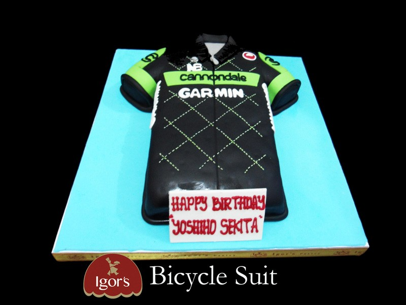 Bicycle Suit - Igor's Pastry products