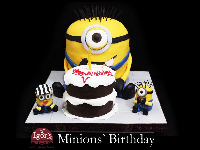 Minions Birthday - Igor's Pastry products
