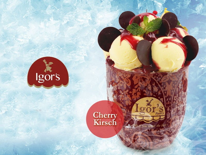 Royal Grande Cherry Kirsch - Igor's Pastry products