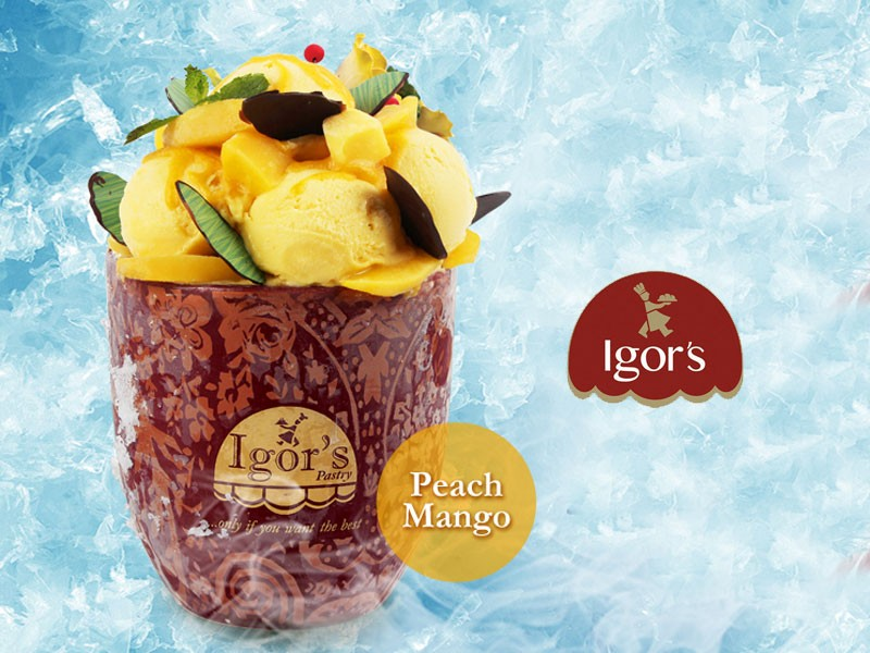 Royal Grande Peach Mango - Igor's Pastry products