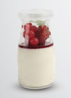 Pannacota Raspberry - Igor's Pastry products