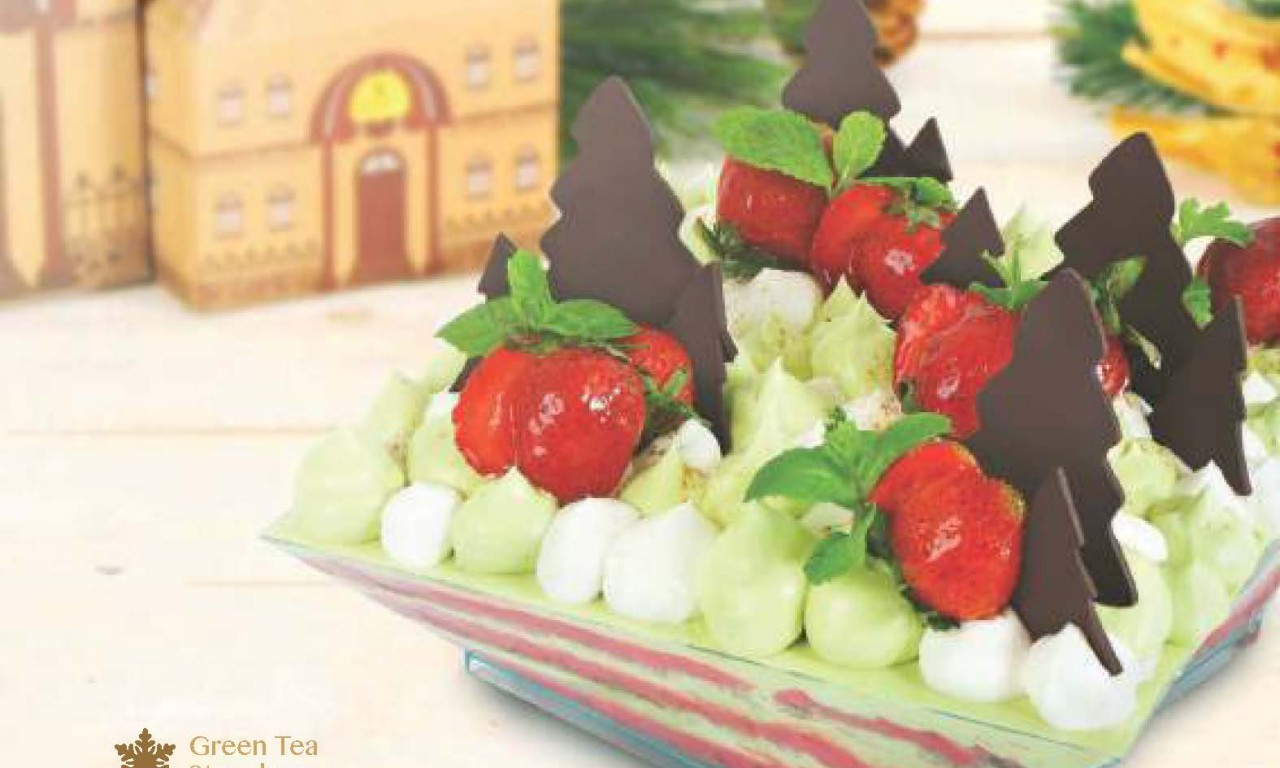 Green Tea Strawberry - Igor's Pastry products