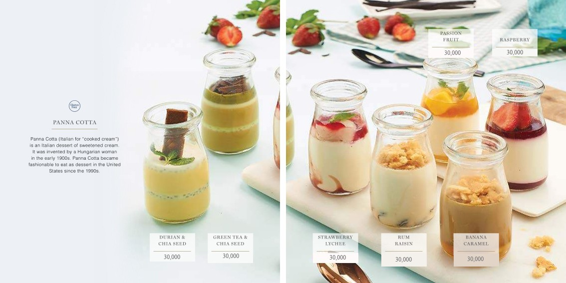 PANNACOTTA  - Igor's Pastry products