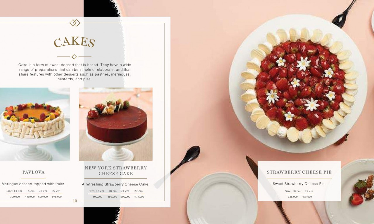 CAKE  - Igor's Pastry products