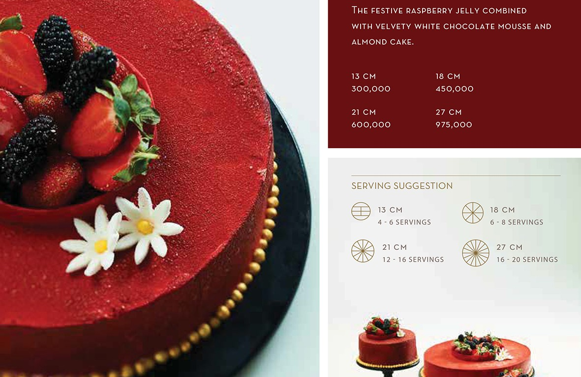 Raspberry Ivory - Igor's Pastry products