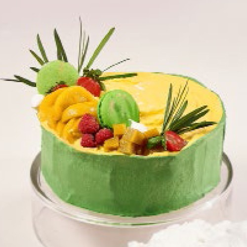 Mango Peach Iced Cake - Igor's Pastry & Cafe | The Best Fine Pastry in Surabaya products